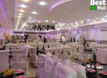 دیوار پوش های خاص تالار های عروسی
