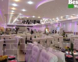 دکور و دیوارپوش سه بعدی رستوران و تالار پذیرایی