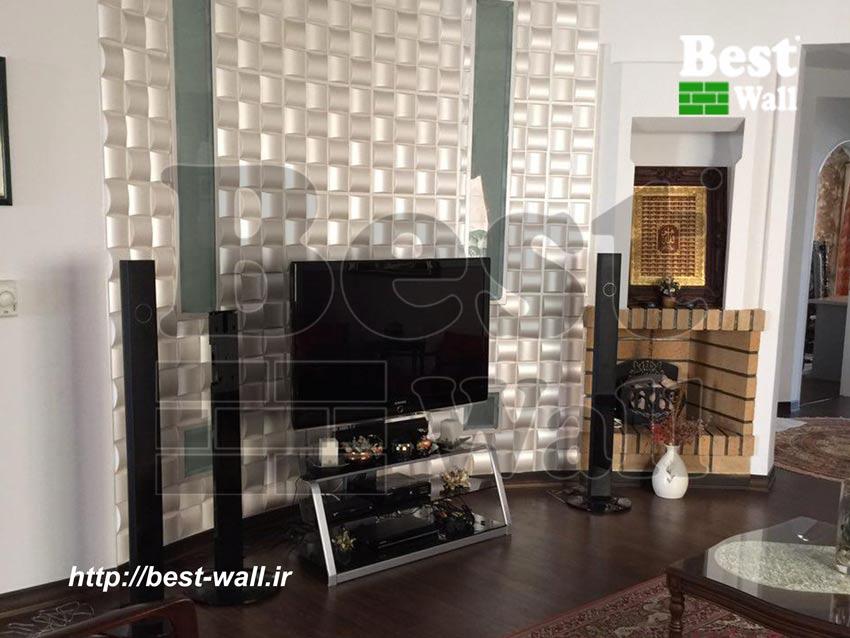 دیوار دکوراتیو پشت تلویزیون