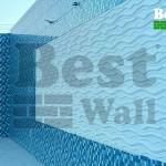 طراحی استخر با دیوارپوش ضد آب طرح آرام