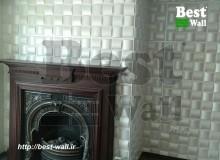 دکور دیوار روی شومینه