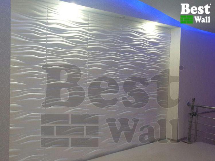 طراحی دیوار های لابی ساختمان