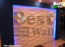 طراحی دیوار دکوری گالری مبل