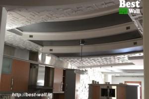 سقف دکوراتیو سه بعدی مسکونی