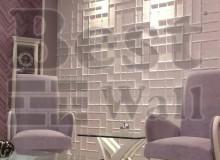 دیوارپوش سه بعدی اتاق پذیرایی