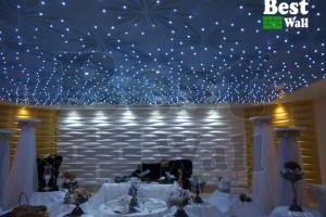 سقف سه بعدی نور پردازی شده - تالار مفرح