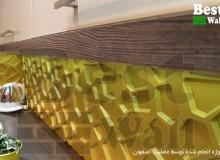 پانل دکوراتیو سه بعدی بین کابینتی