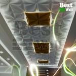 پنل سقفی دکوراتیو مدل چهارپر بست وال