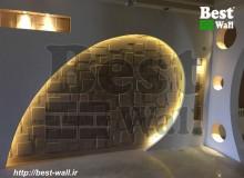 دیوار دکوراتیو تلویزیون