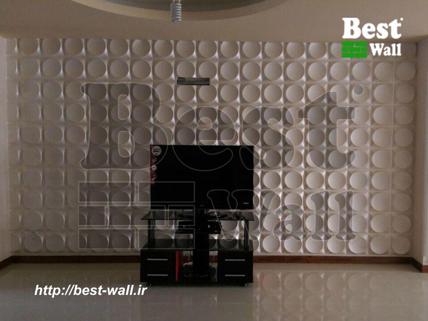 دیزاین لوکس دیوار پشت ال سی دی