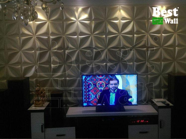 دیوارپوش دیوار تلویزیون و پشت TV