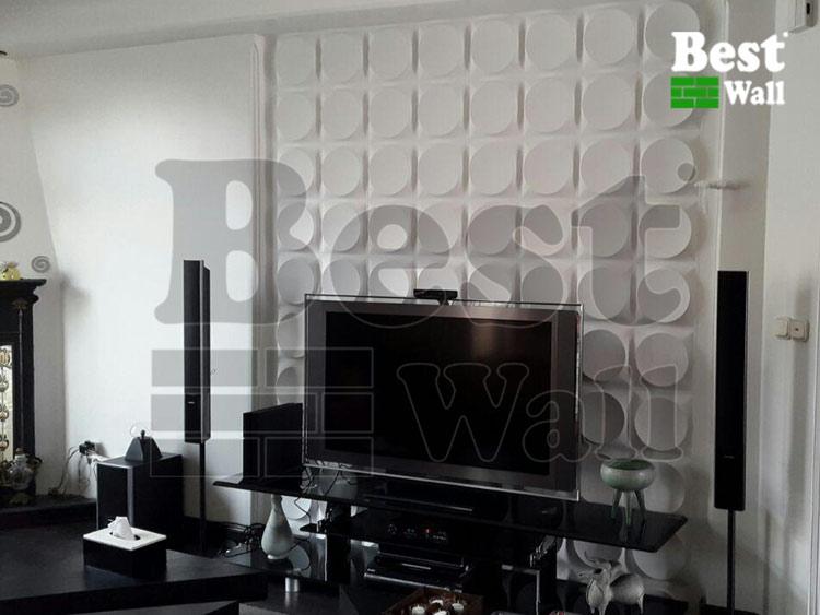 دیوار ال ای دی با دیوارپوش سوپر سه بعدی بست وال