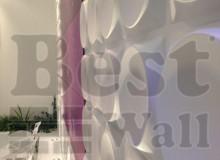 طراحی دکوراسیون داخلی آزمایشگاه با پانل سه بعدی
