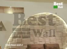 دکور لوکس دیوار سالن شیمن
