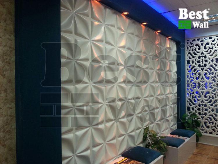طراحی دکوراسیون آرایشگاه و سالن زیبایی با پانل دکوراتیو بست وال