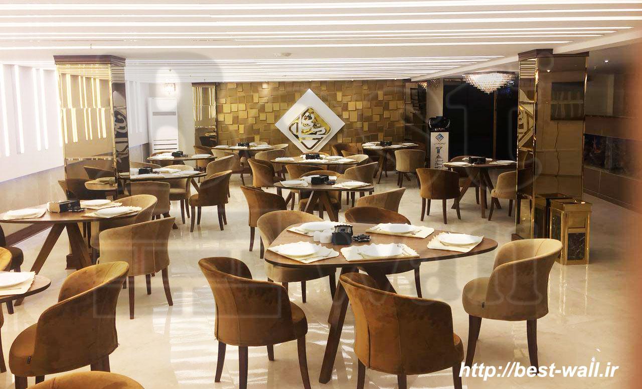 فضای داخلی رستوران و تالار پذیرایی