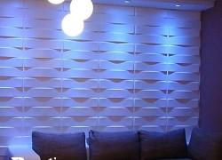دیوارپوش سه بعدی برای طراحی داخلی مطب و کلینیک
