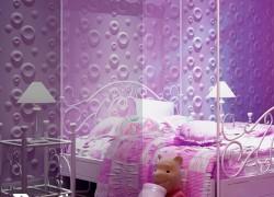 دکوراسیون زیبای دیوار اتاق خواب کودک