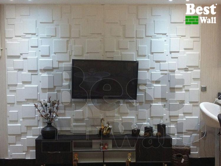 دیوارپوش جدید پشت تلویزیون طرح مدرن