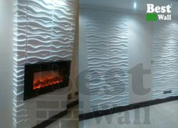 نمای جدید دیوار شومینه