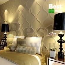 دکور اتاق خواب با پنل سه بعدی