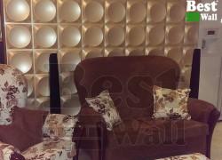 اتاق نشیمن با دیوار طرح باران