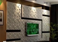 دیزاین دیوار ال سی دی با طرح حباب