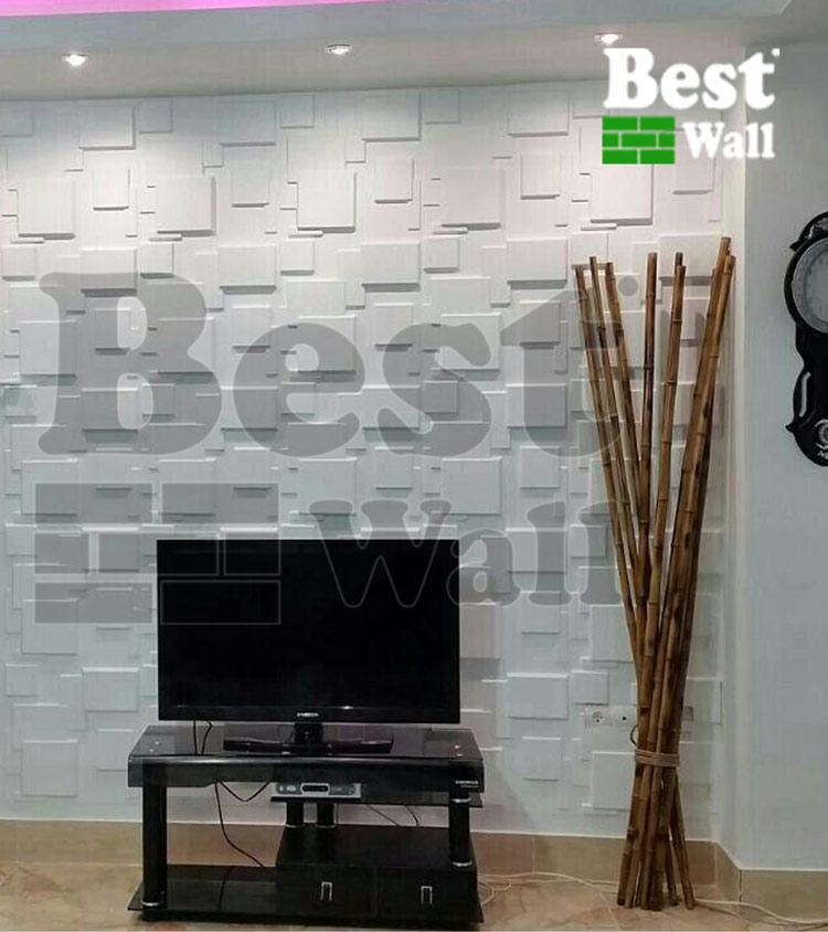 کاغذ دیواری جدید پشت تلویزیون ال ای دی