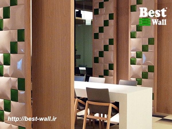 دیوار چرمی رستوران و کافی شاپ