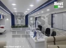 دیواپوش دکوراتیو بست وال به کار رفته در نمایندگی ایران خودرو واقع در اراک