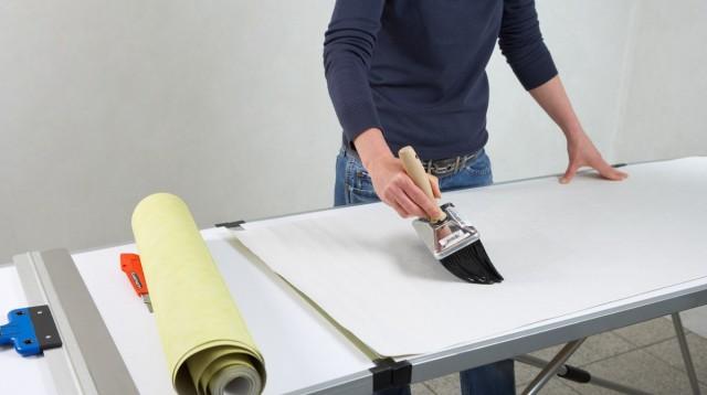 روش نصب کاغذ دیواری