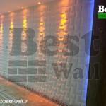 تزیین راه رو و لابی ساختمان با جدیدترین متریال دکوراتیو سه بعدی بست وال