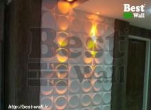زیباسازی دیوار راه رو ها با کاغذ دیواری دکوراتیو