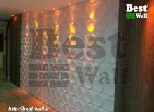 دکور دیوار و سقف مشاعات بیمارستان
