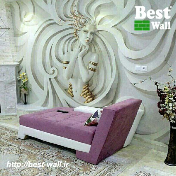 کاغذ دیواری سه بعدی فرشته