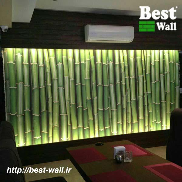 کاغذ دیواری طرح بامبو
