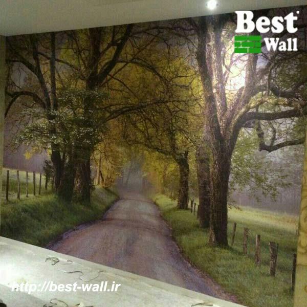 پوستر دیواری جاده
