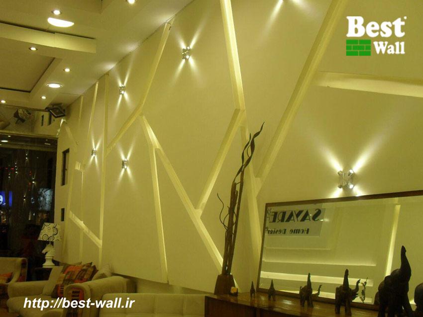 طراحی دیوار با کناف