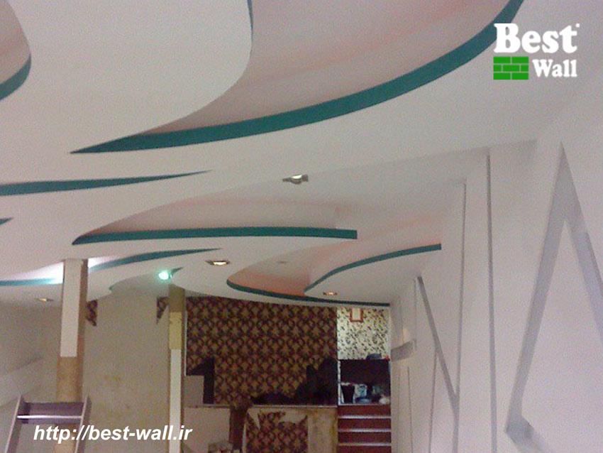 طراحی سقف دکوراتیو با کناف