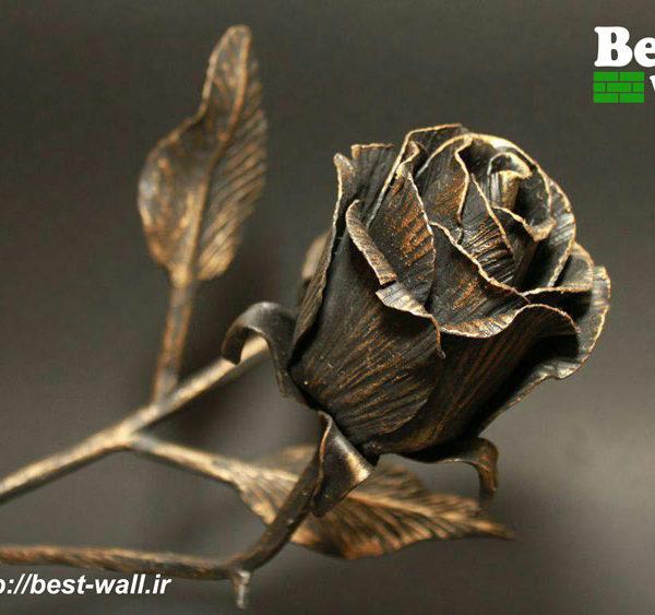 پوستر و کاغذدیواری سه بعدی گل آنتیک