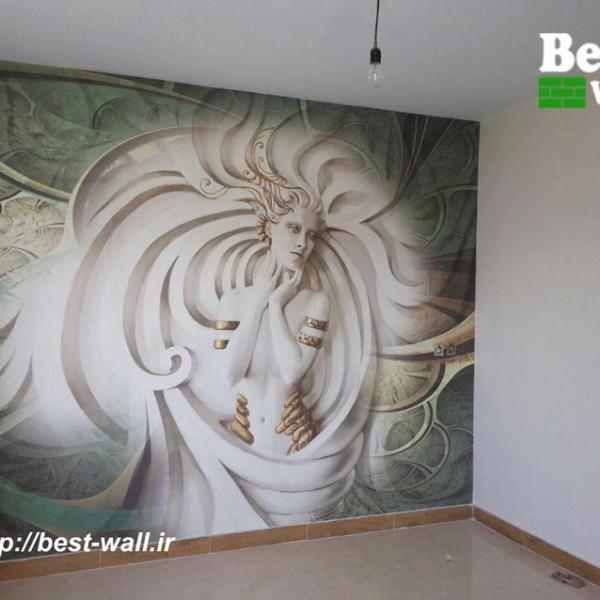 کاغذ دیوار سه بعدی و پوستر حوری