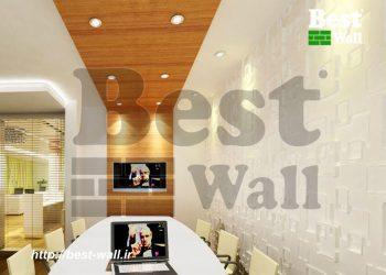 دیوارپوش PVC برجسته طرح رولکس