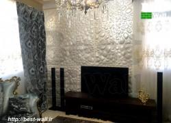 نمای دیوار تلویزیون