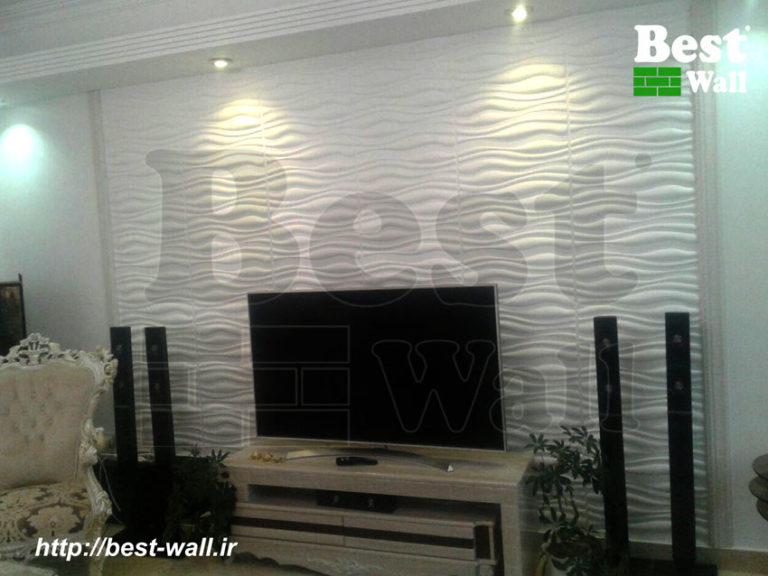 دیوار پشت تلویزیون جهانتاب