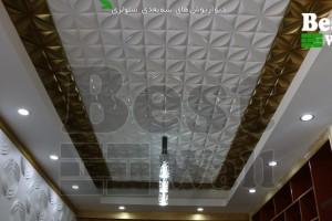 سقف سه بعدی - طرح چهارپر