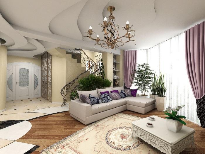 رنگها در طراحی فضای داخلی منزل