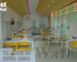دیوار فست فود و رستوران
