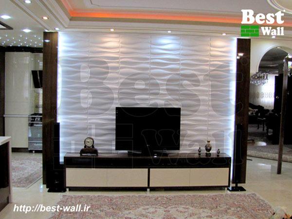 دیوار تلویزیون اردبیل طرح ماکو