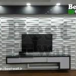 دکور جدید دیوار پشت تلویزیون