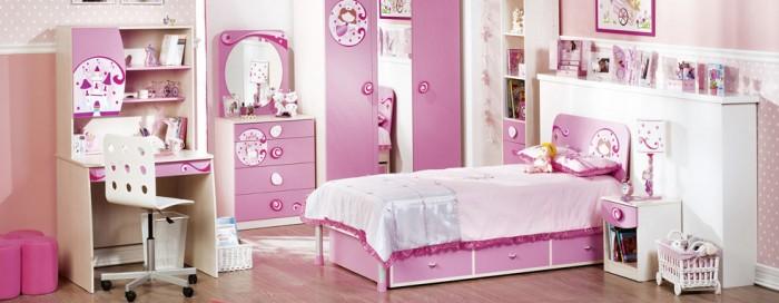 دکوراسیون اتاق خواب دخترها